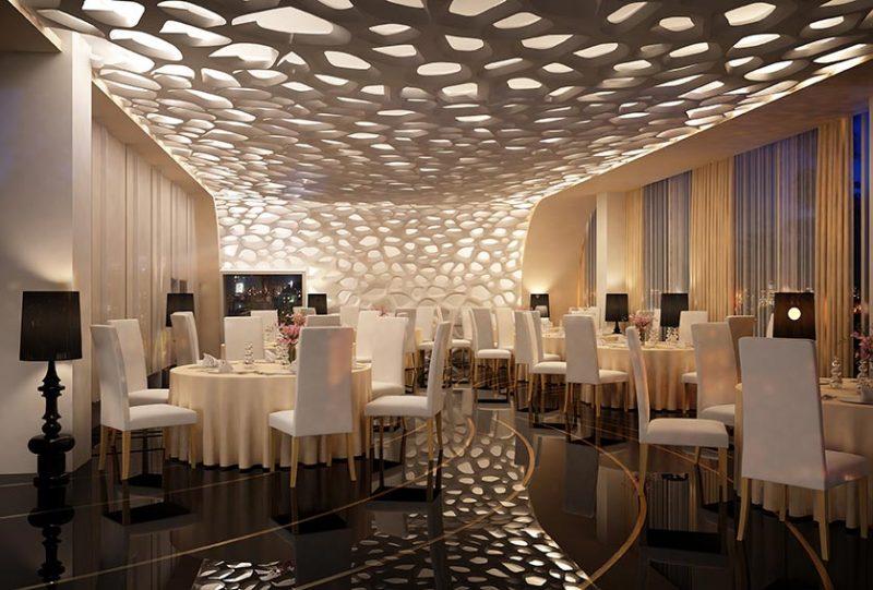oświetlenie do restauracji, spektakularne oświetlenie, oświetlenie na zamówienie